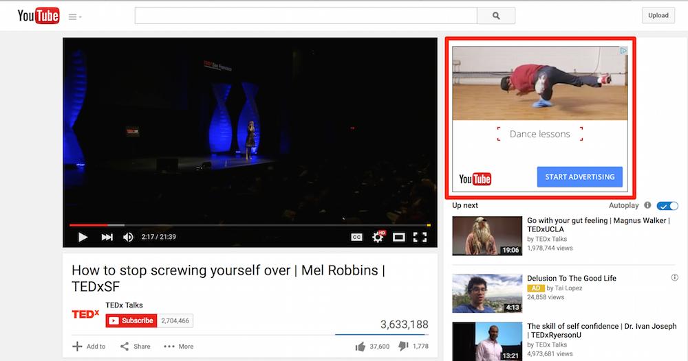 Where the Fu*** the Display Ads Gone ?: youtube