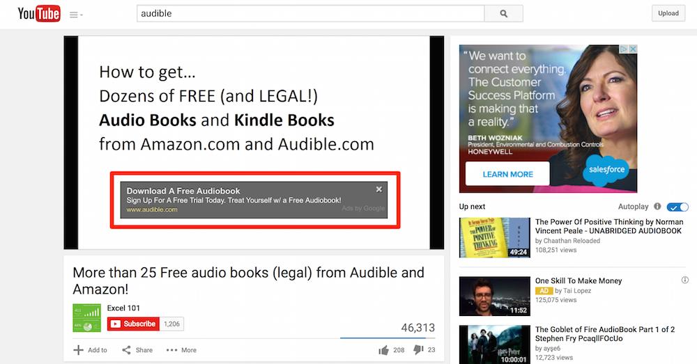 YouTube Overlay Ad