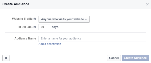create audience duration