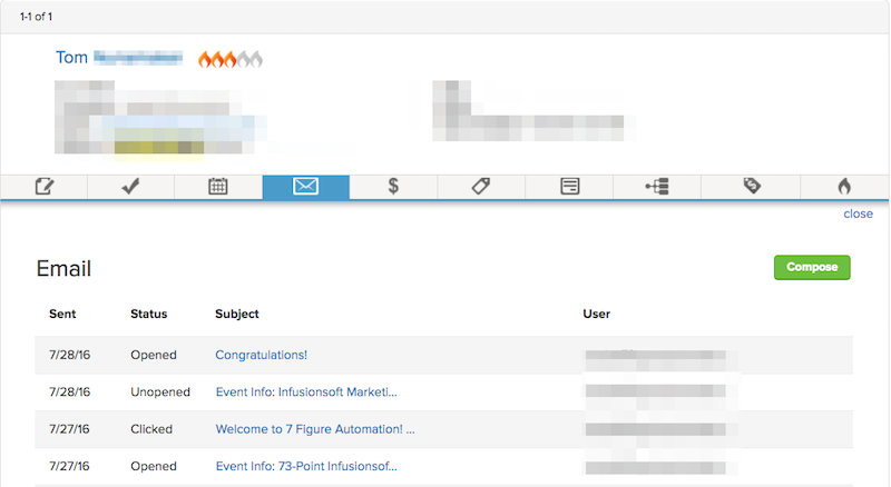Image of Infusionsoft Emails
