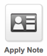 Image of Infusionsoft Applying notes Icon