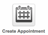 Image of Infusionsoft creating Appointments Icon