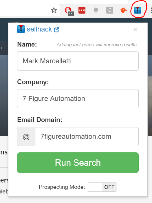 3 Simple Tools To Find Anyone's Email On LinkedIn - 7 Figure Automation